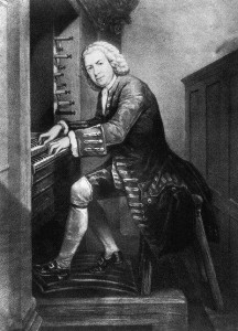 Johann Sebastian Bach all'organo