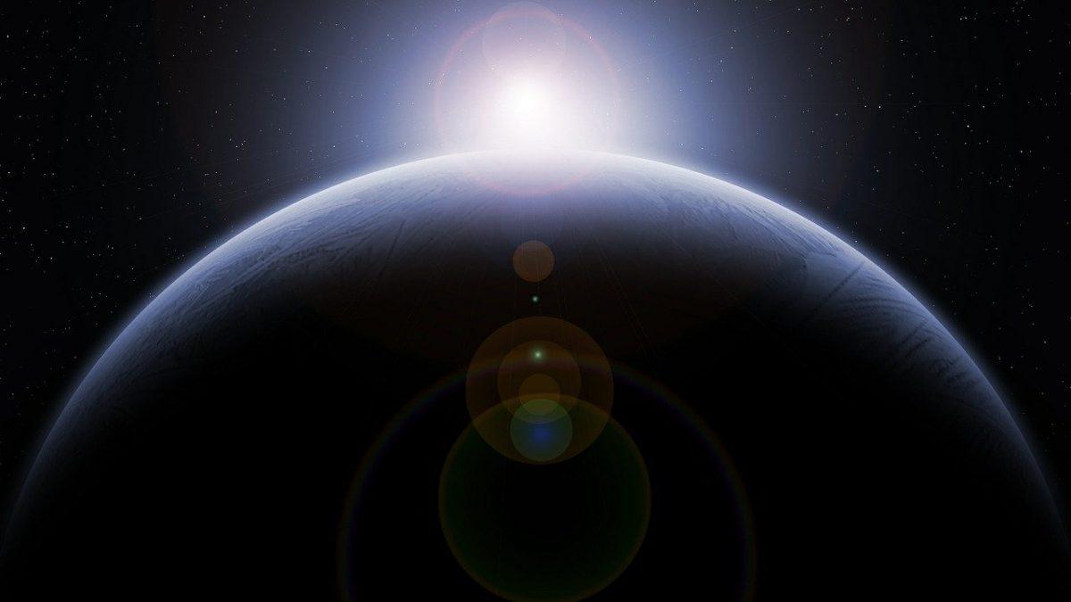 La terra e il sole